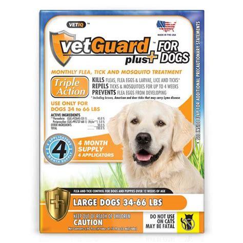 tick medication for dogs vetguard plus flea and tick medication for dogs the animal pharmacy the