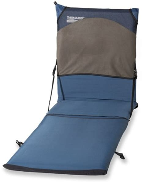 thermarest chair pad therm a rest trekker lounge chair kit at rei