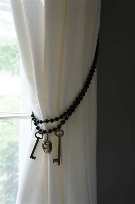 cool curtain tie backs 17 best images about beaded curtain tie backs on pinterest