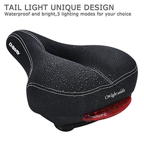 most comfortable bike seat women comfortable men women bike seat daway c99 memory foam