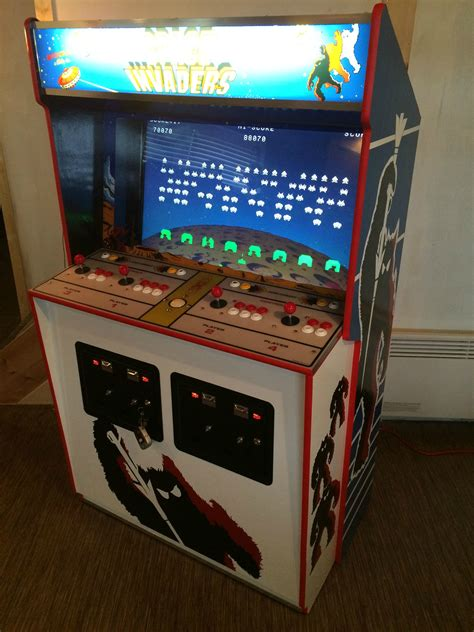 Space Invaders Cabinet by Space Invaders Deluxe Custom Hyperspin Arcade