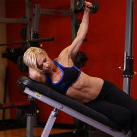 raised bench press one arm incline lateral raise exercise guide and video