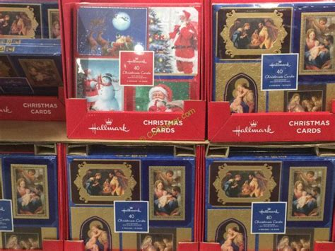 Sell Costco Gift Card - hallmark christmas cards 40 count costcochaser