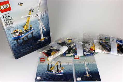 Baru Lego 4002015 Borkum Riffgrund 1 lego mitarbeiter set borkum riffgrund 1 unboxing zusammengebaut