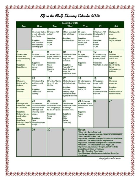 On The Shelf Schedule by On The Shelf Planning Calendar 2014