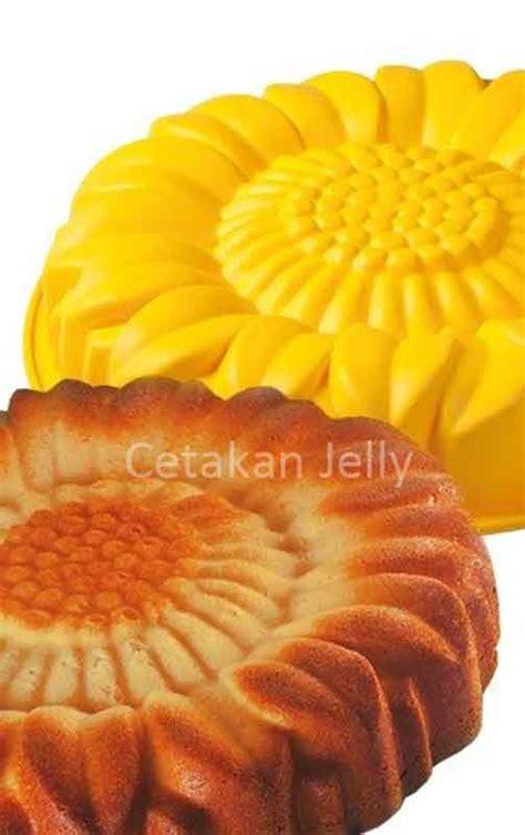 Cetakan Puding Kue Sun Flower 15 Cav cetakan silikon kue puding sun flower ii cetakan jelly cetakan jelly