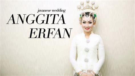 Anggita Maxy wedding cinematic anggita erfan di wisma kagama