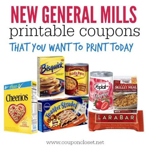 Toaster Scrambles New High Value General Mills Printable Coupons Coupon Closet