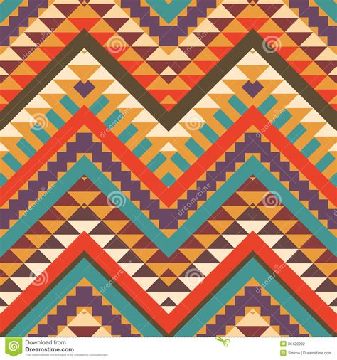 aztec pattern stock seamless colorful aztec pattern stock photography image