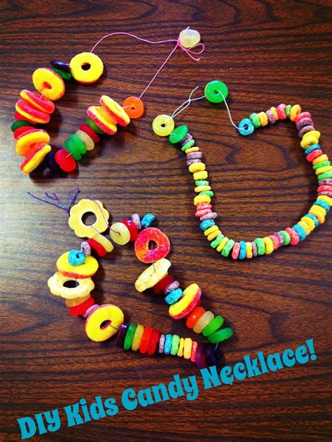 edible crafts best 25 necklaces ideas on birthday