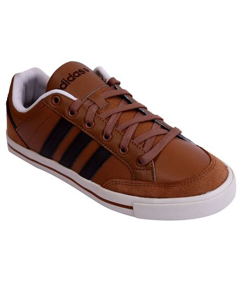 buy adidas brown casual shoes for snapdeal