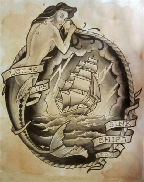loose lips sink ships tattoo 41 best ideas images on ideas