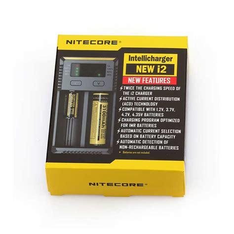 Charger Battery Nitecore Intellicharger Original New I2 nitecore intellicharger i2 v2 2 slot charger