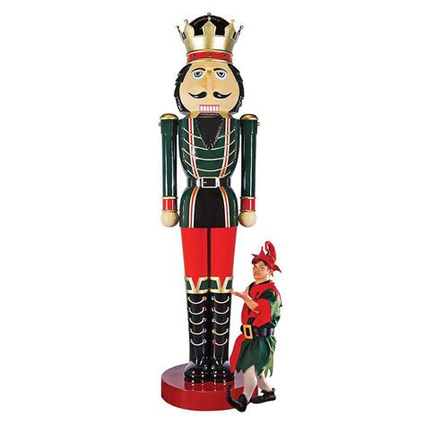 massive 12 foot tall nutcracker statue the green head