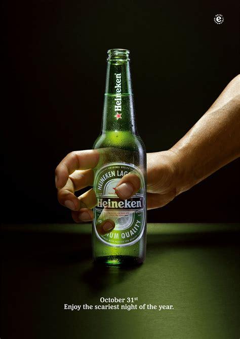 Heineken Meme - 56 most creative halloween advertisements 1 design per day