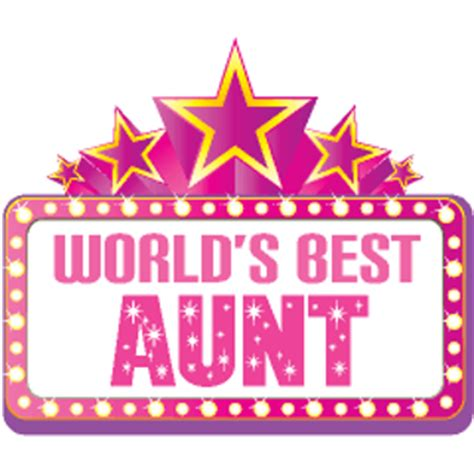 Worlds Best Auntie free worlds best certificate other