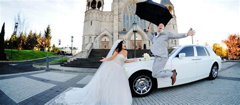 Wedding Day Limo Service: Limousine & Party Bus Rental for