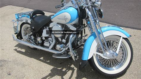 1998 harley davidson heritage springer custom paint color gorgeous