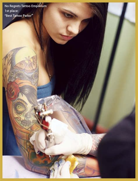 no regrets tattoo memphis best of 2010 goods services cover feature