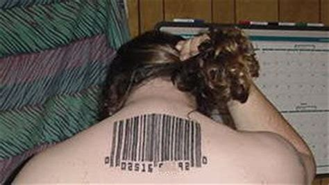bdsm slave tattoo human traffickers are branding with a bar code