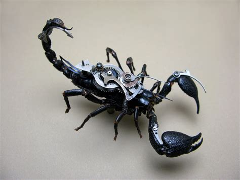 steampunk insects eric chamberlain
