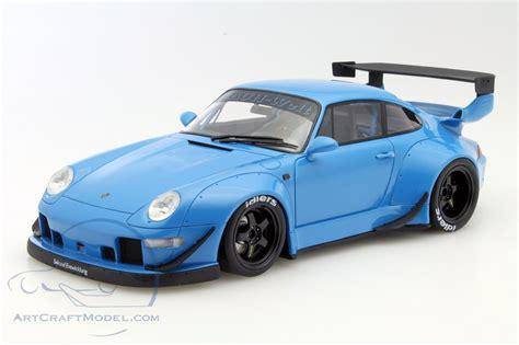 rwb porsche blue porsche 911 993 rwb blue zm087 ean 9580010301843