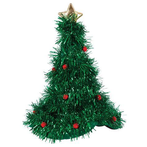 christmas tree hat with tinsel fancy dress christmas santa