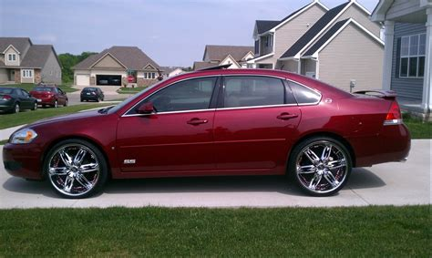 chevy impala on 22s 08 impala ss on 22s for the of my ss