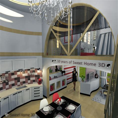 sweet home  draw floor plans  arrange furniture freely