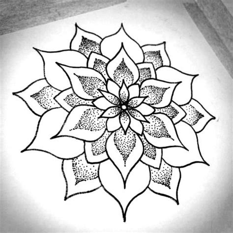 simple mandala tattoo 25 best ideas about easy mandala designs on