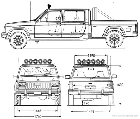 4 door jeep drawing the blueprints com blueprints gt cars gt jeep gt jeep