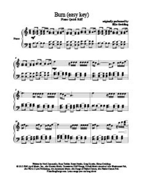 burn tutorial keyboard deep purple learn to play on pinterest free sheet music popular