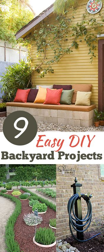 9 easy backyard diy projects list of lists
