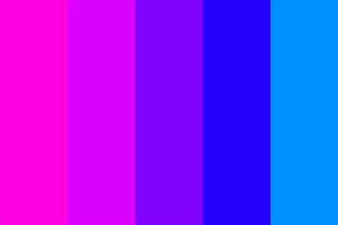 color combination with pink pink 2 blue transitions 1 color palette