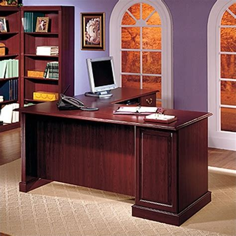 l shaped desk with bookcase bush saratoga l shape executive desk with bookcase and