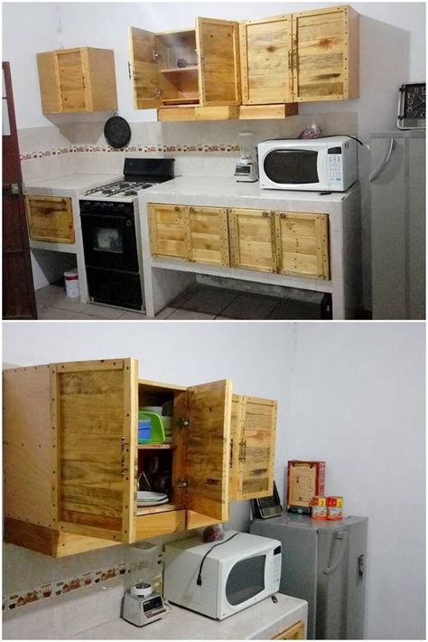 Pallet Kitchen Furniture Some Innovative Diy Ideas Made With Used Wood Pallets