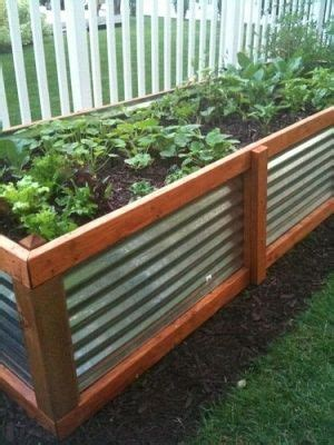 Metal Garden Beds by Corrugated Metal Raised Garden Beds Tracey Gardens