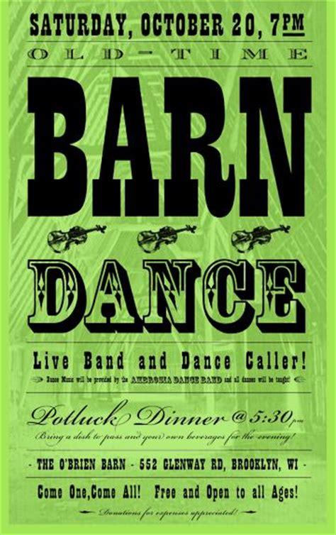 arcane radio trivia barn storming and barn dancing