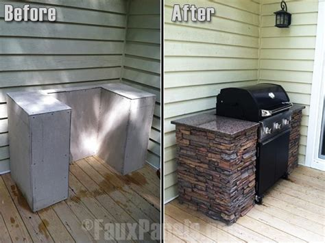 inexpensive outdoor kitchen ideas such a brilliant idea home pinterest stains good