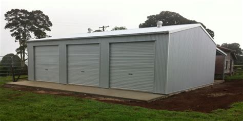 3 Bay Shed by 9m X 12m Shed In Rous Mill Nsw 2477