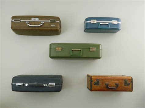 vintage suitcase shelves crnchy