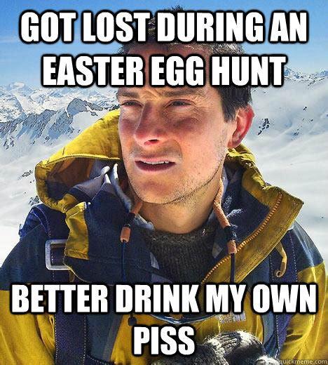 Easter Egg Meme - bear grylls memes quickmeme