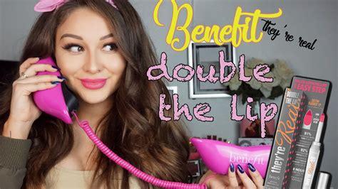 Benefit They Re Real The Lip Mini Original lip contour lipstick benefit they re real the lip impressions