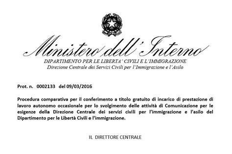 ministero interno viminale le anomalie dell ufficio sta lettera43 it
