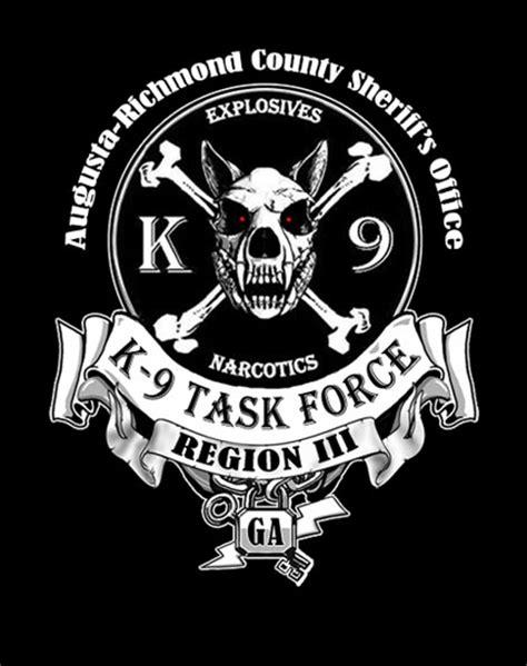 Gildan Custom Graphic Tshirt Marine Pirate Flag augusta richmond county k9 task on mens