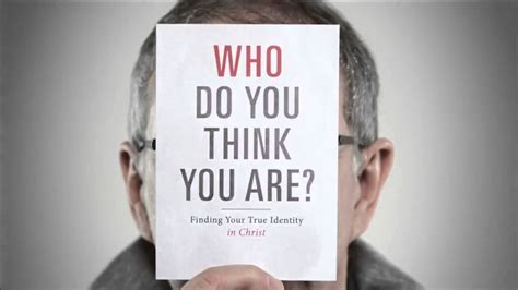 Who Are You Book who do you think you are by pastor driscoll book