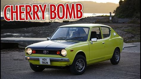 Datsun 100a by 1975 Datsun 100a Cherry Cherry Bomb Sound Test