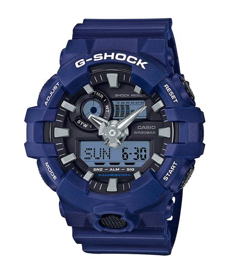 G Shock Black Blue List White g shock blue white digi resin dillards