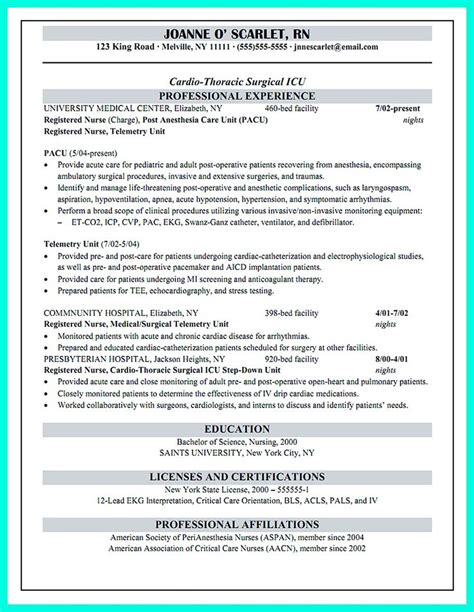 Icu Resume Skills 100 Ideas To Try About Resume Sle Template And Format Business Intelligence Resume