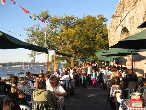 boat basin open new york city s best outdoor bars restaurants the lazy